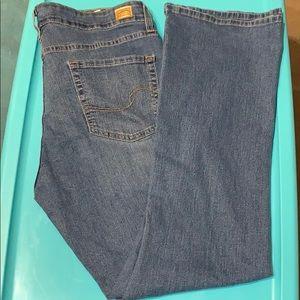 Levi Bootcut Jeans, 18 Medium